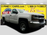 2017 Summit White Chevrolet Silverado 1500 LS Regular Cab 4x4 #118176199