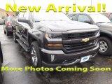 2016 Slate Grey Metallic Chevrolet Silverado 1500 LT Crew Cab 4x4 #118176437