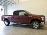 2017 Bronze Fire Ford F150 XLT SuperCab 4x4 #118200432