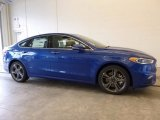 2017 Lightning Blue Ford Fusion Sport AWD #118200430