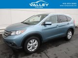 2014 Mountain Air Metallic Honda CR-V EX-L AWD #118200337