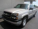2005 Silver Birch Metallic Chevrolet Silverado 1500 Z71 Extended Cab 4x4 #11814702