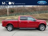 2015 Ruby Red Metallic Ford F150 Lariat SuperCrew 4x4 #118200503