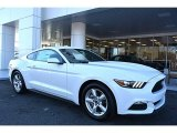 2017 Oxford White Ford Mustang V6 Coupe #118200455