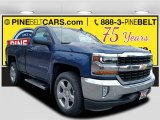 2017 Deep Ocean Blue Metallic Chevrolet Silverado 1500 LT Regular Cab 4x4 #118200374