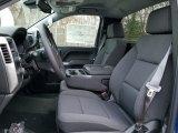 2017 Chevrolet Silverado 1500 LT Regular Cab 4x4 Jet Black Interior