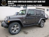 2017 Granite Crystal Metallic Jeep Wrangler Unlimited Sahara 4x4 #118200410