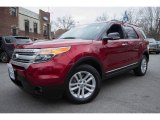 2014 Ruby Red Ford Explorer XLT 4WD #118221426