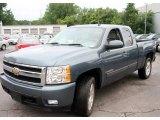 2007 Blue Granite Metallic Chevrolet Silverado 1500 LTZ Extended Cab 4x4 #11815735