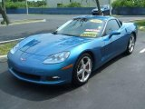 2008 Jetstream Blue Metallic Chevrolet Corvette Coupe #11802274