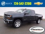 2017 Graphite Metallic Chevrolet Silverado 1500 LT Double Cab 4x4 #118221461