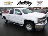 2017 Summit White Chevrolet Silverado 1500 LT Crew Cab 4x4 #118221559