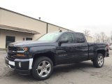 2017 Graphite Metallic Chevrolet Silverado 1500 LT Double Cab 4x4 #118245533