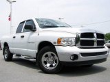 2003 Bright White Dodge Ram 1500 SLT Quad Cab #11798454