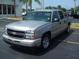 2006 Silver Birch Metallic Chevrolet Silverado 1500 LS Crew Cab #11802279