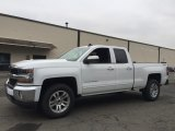 2017 Summit White Chevrolet Silverado 1500 LT Double Cab 4x4 #118245567