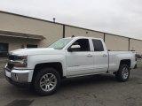 2017 Summit White Chevrolet Silverado 1500 LT Double Cab 4x4 #118245567
