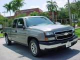 2007 Graystone Metallic Chevrolet Silverado 1500 Classic Work Truck Extended Cab #11803332