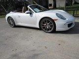 2012 Carrara White Porsche 911 Carrera S Cabriolet #118245707