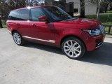 2017 Firenze Red Metallic Land Rover Range Rover HSE #118245703