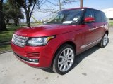 Firenze Red Metallic Land Rover Range Rover in 2017