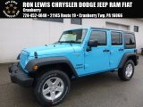 2017 Chief Blue Jeep Wrangler Unlimited Sport 4x4 #118261008