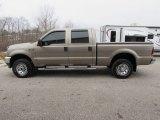 2004 Arizona Beige Metallic Ford F250 Super Duty XLT Crew Cab 4x4 #118261206