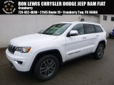 2017 Bright White Jeep Grand Cherokee Limited 4x4 #118261006