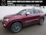 2017 Velvet Red Pearl Jeep Grand Cherokee Limited 4x4 #118261005
