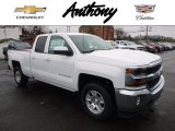 2017 Summit White Chevrolet Silverado 1500 LT Double Cab 4x4 #118278074