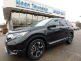 2017 Crystal Black Pearl Honda CR-V Touring AWD #118277793