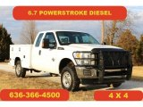 2015 Oxford White Ford F250 Super Duty XLT Super Cab 4x4 #118278072