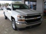2017 Summit White Chevrolet Silverado 1500 WT Regular Cab #118278144