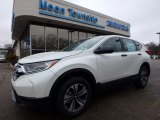 2017 White Diamond Pearl Honda CR-V LX AWD #118277783