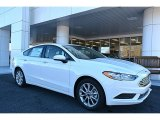 2017 Oxford White Ford Fusion SE #118277721