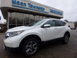 2017 White Diamond Pearl Honda CR-V EX-L AWD #118277822