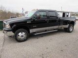 2005 Black Ford F350 Super Duty Lariat Crew Cab 4x4 Dually #118278093
