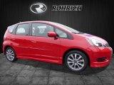 2013 Milano Red Honda Fit Sport #118277695