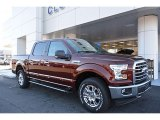 2017 Bronze Fire Ford F150 XLT SuperCrew 4x4 #118309965