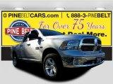 2014 Bright Silver Metallic Ram 1500 SLT Quad Cab 4x4 #118309689