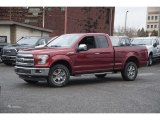 Ruby Red Ford F150 in 2017