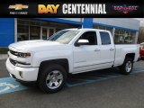 2017 Summit White Chevrolet Silverado 1500 LTZ Double Cab 4x4 #118309714