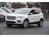 2017 White Platinum Ford Escape Titanium 4WD #118309973