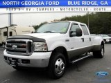2005 Oxford White Ford F350 Super Duty Lariat Crew Cab 4x4 Dually #118309636