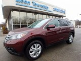 2012 Basque Red Pearl II Honda CR-V EX 4WD #118339264