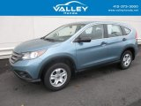 2014 Mountain Air Metallic Honda CR-V LX AWD #118339139