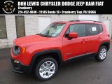 2017 Colorado Red Jeep Renegade Latitude 4x4 #118339203