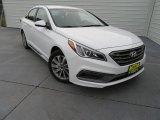 2017 Quartz White Pearl Hyundai Sonata Sport #118339294