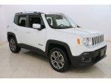 2016 Alpine White Jeep Renegade Limited 4x4 #118339392