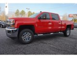 Red Hot Chevrolet Silverado 2500HD in 2017